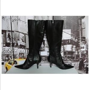 Michael Kors Knee High Boots with studs